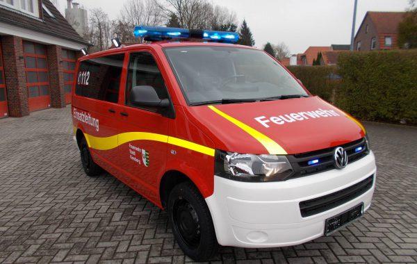 ELW1 VW T5 Feuerwehr Kemberg