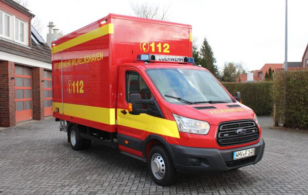 GW Logistik Ford Transit Koffer mit Ladebordwand 2
