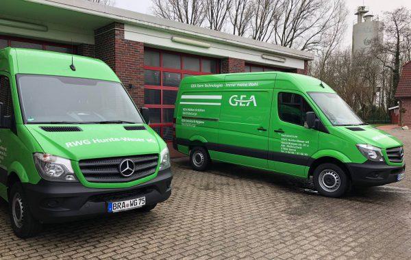 Sortimo Mercedes Sprinter RWG Hunte-Weser eG
