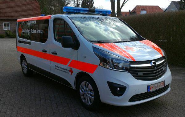 MTW OPEL Vivaro DRK Wilhelmshaven